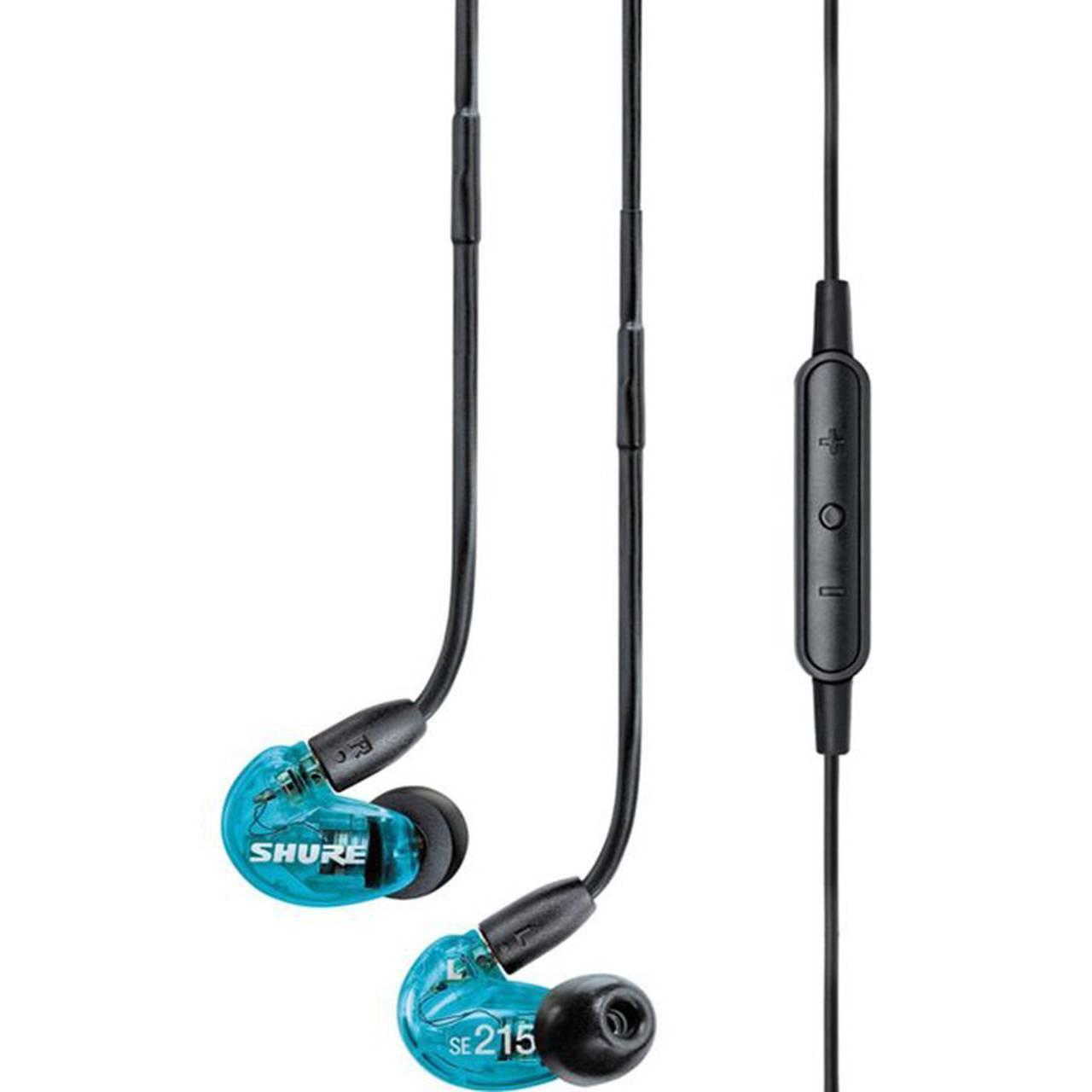 Auriculares negros con cable /control remoto / micrófono, compatible con dispositivos Apple y Android.