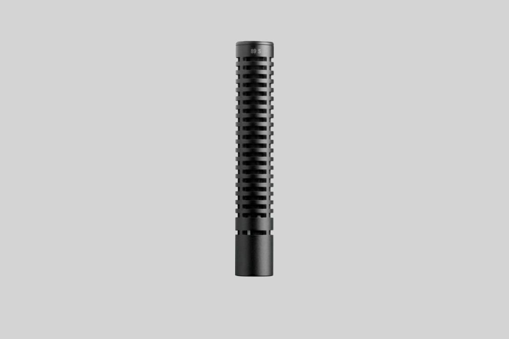 Ensamble del microfono Shure VP89S (corto), sin preamplificador.