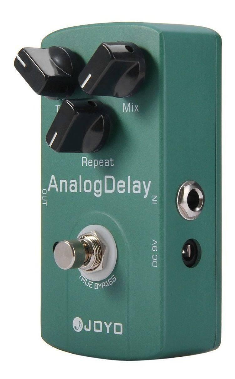 Pedal Joyo para guitarra analogo delay JF-33