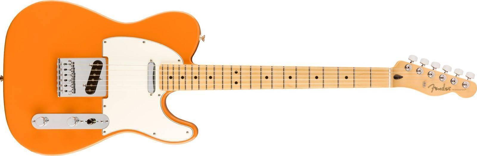Guitarra Telecaster Player Telecaster Naranja Capri