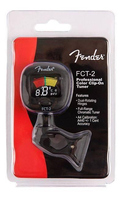 Afinador Fender ft-1 clip on tuner (fct-012)
