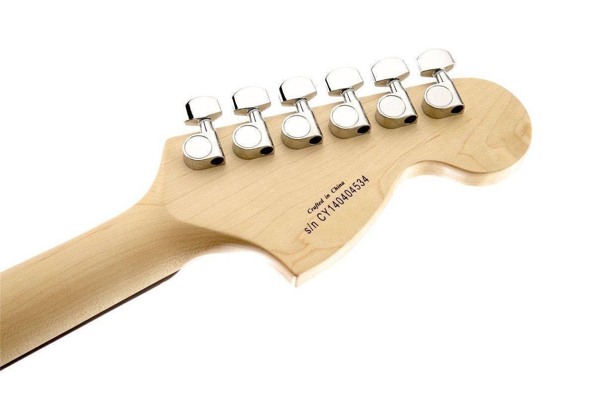 Guitarra Zurda Fender Affinity Sunburst 0370620532