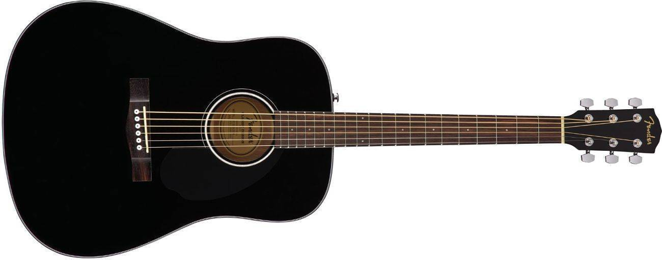 Guitarra Acustica Fender Cd-60s Negra