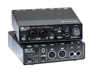 Interfaz con USB 3 Tipo C 2x2 CH I/O MIDI&DSP