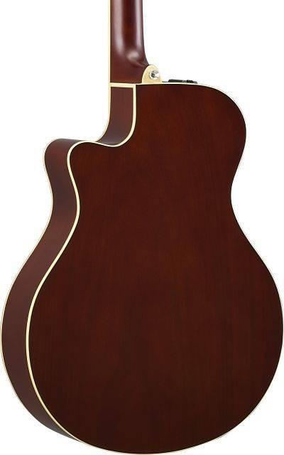 Guitarra Electro-acústica APX Tobacco Brown Sunburst Maple Flameado