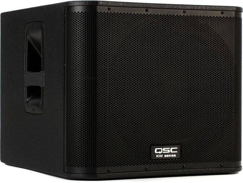 Subwoofer Amplificado QSC de 18 pulgadas KW181