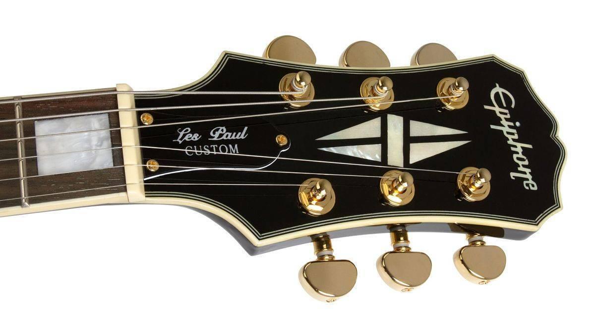 Guitarra Zurda Epiphone Les Paul CUSTOM PRO