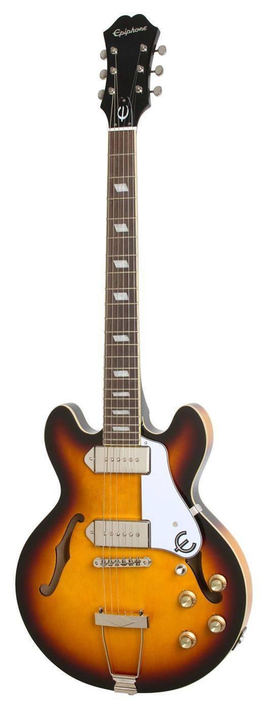 Guitarra Epiphone Casino Coupe Sunburst ETCCVSNH1