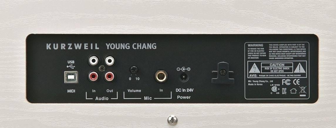 Piano Kurzweil M230 Blanco (Bluetooth)