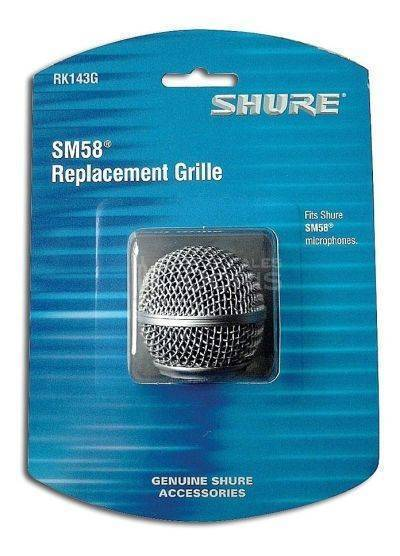 Rejilla metalica de reemplazo para microfono modelo SM58