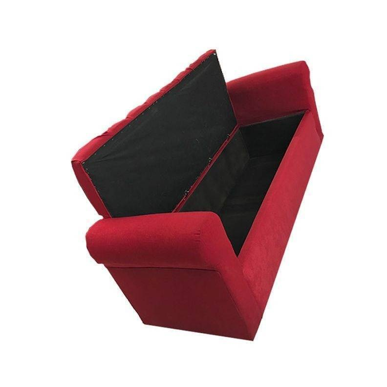 Sillon Divan Acabo Vintage Color Rojo Especial