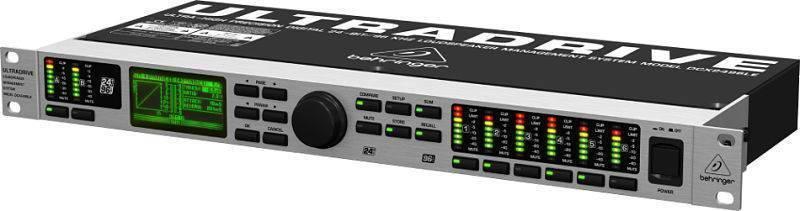 Controlador de Audio Behringer DCX2496LE