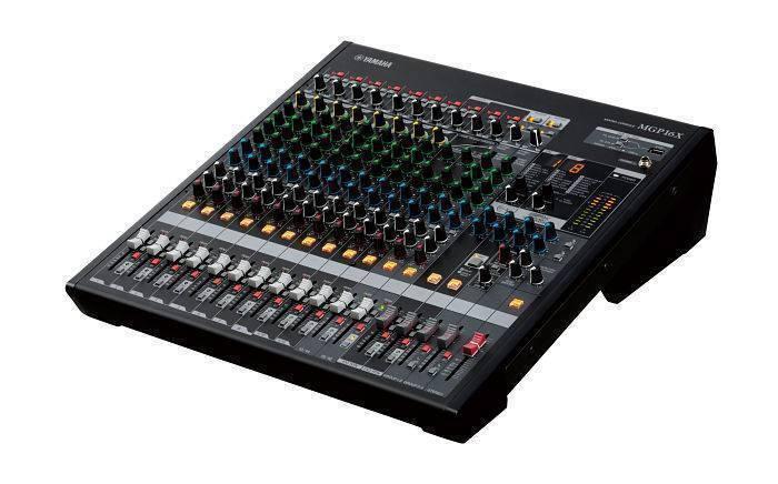 Mezcladora MGP16X Yamaha de 16 canales (conexión iPad o iPhone)