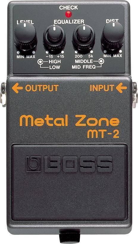 Pedal Efecto Boss Metalzone MT-2