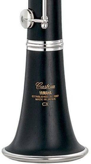 Clarinete Yamaha En Bb Custom YCL-CX