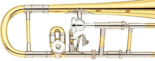 Trombon Alto Yamaha De Vara Custom En Eb (Mi Bemol)
