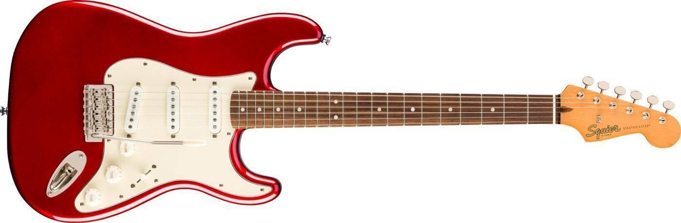 Guitarra Classic Vibe 60s Rojo Un tributo a la evolución de los años sesenta de la Strat®
