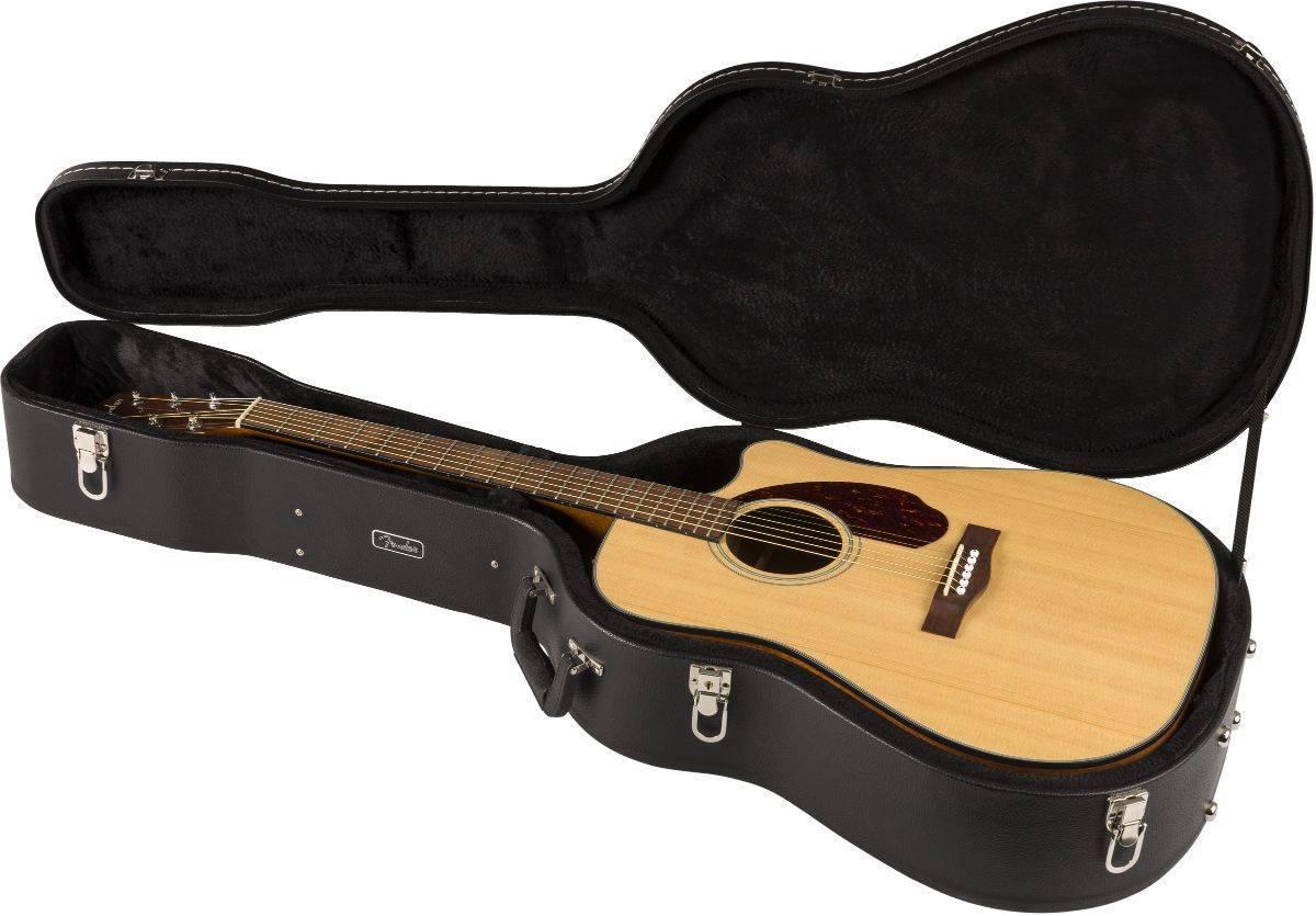 Guitarra Electroacustica Fender Cd-140sce Natural Cutway con estuche