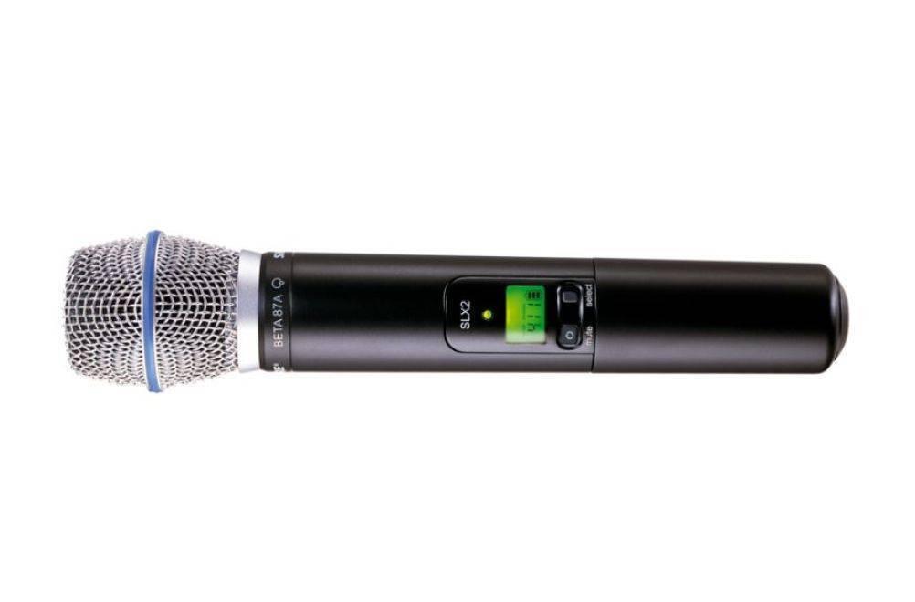 Transmisor Shure SLX2/BETA87A