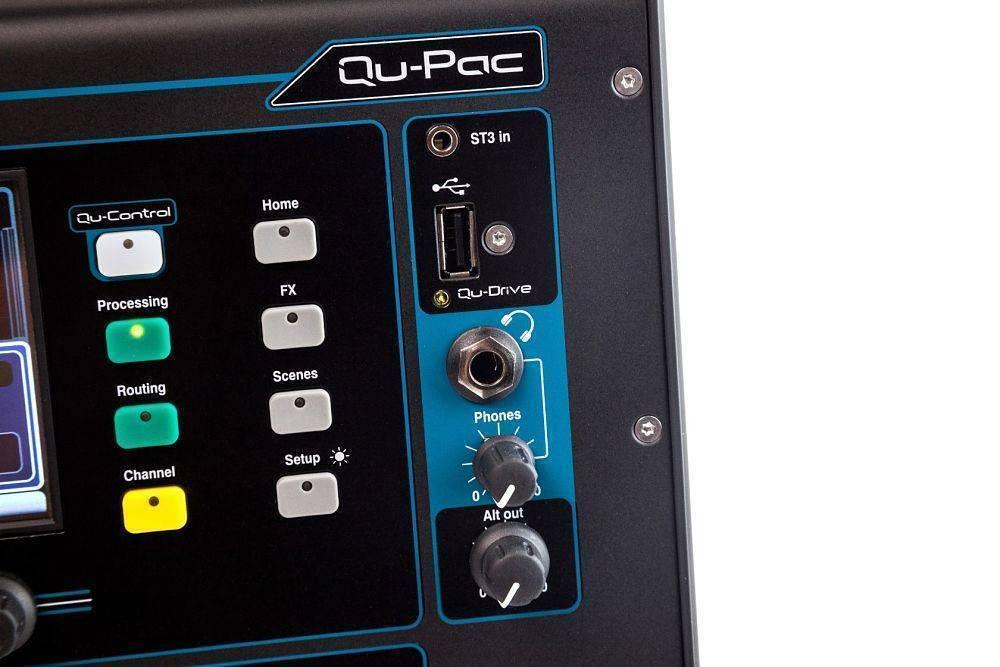 Mezcladora QU-PAC Allen and Heath