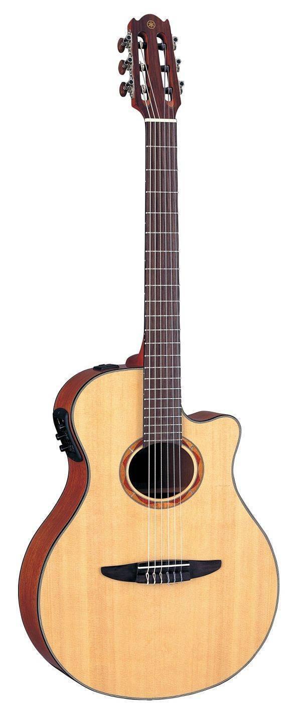Guitarra Electro Acústica Yamaha NTX700 Cuerdas Nylon Tapa Amarilla