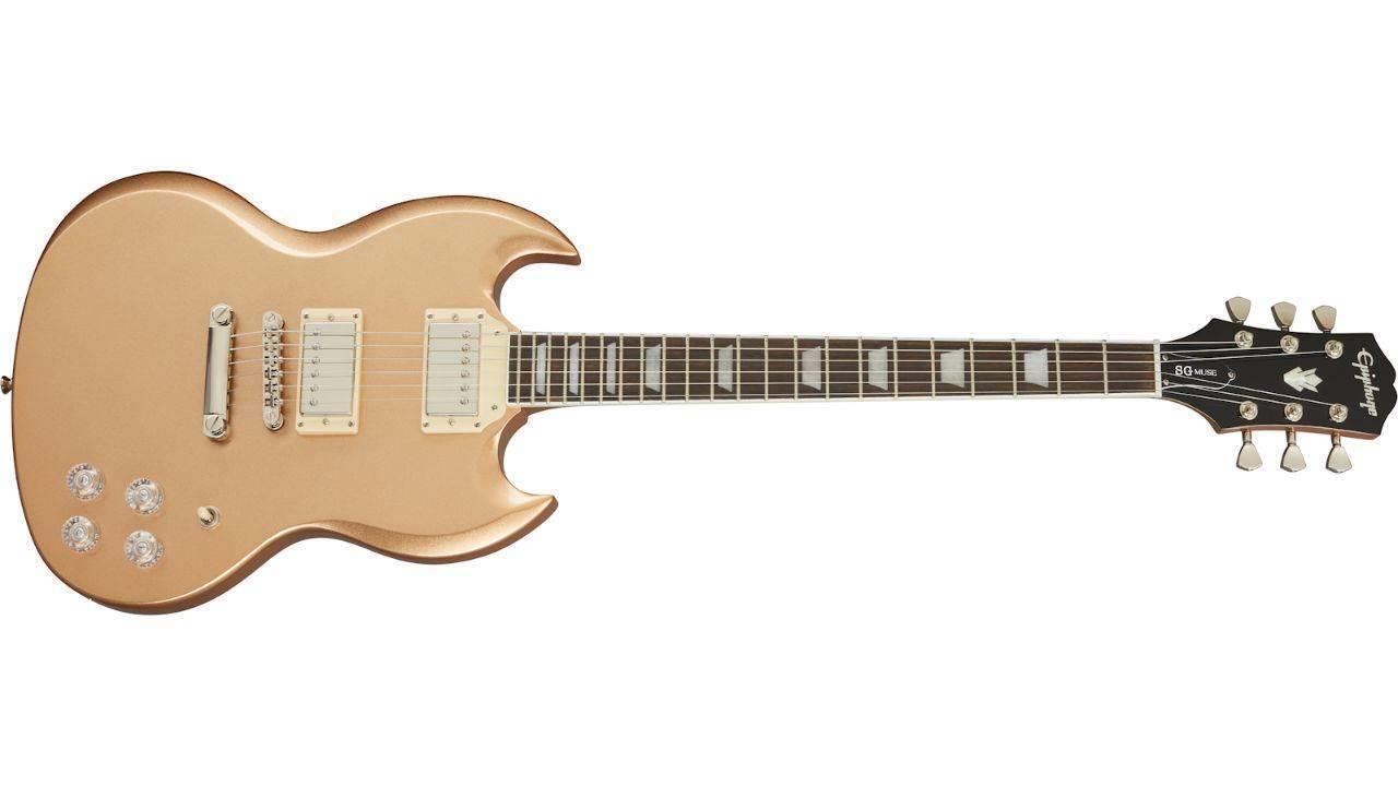 Guitarra Epiphone Muse SG Smoked Almond Metallic