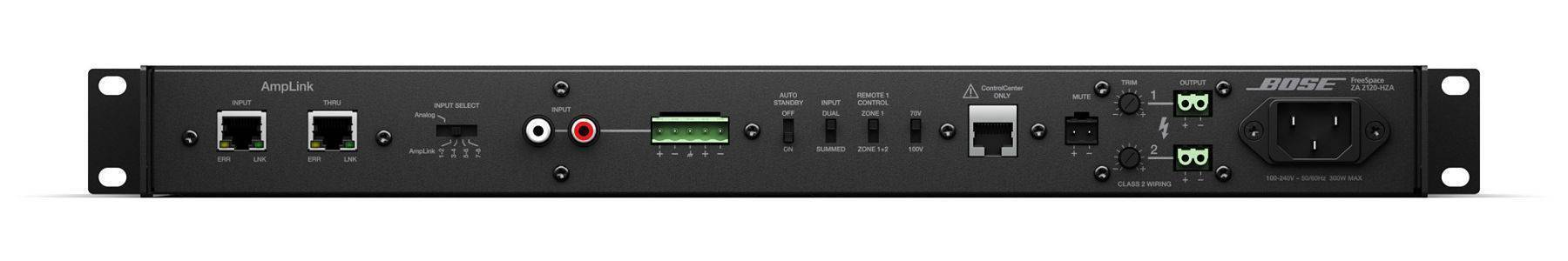 Amplificador Bose ZA-2120HZA Alta impedancia