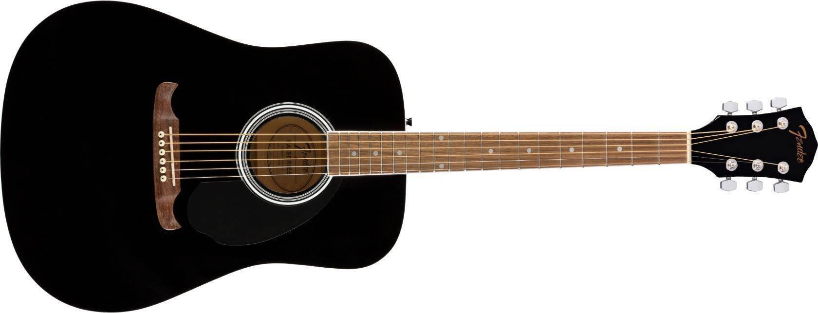 Guitarra Fender FA-125 Negra