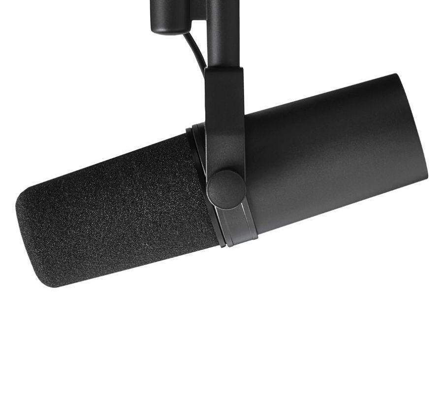 Micrófono Shure SM7B  Cardioide Para Estudio De Radio