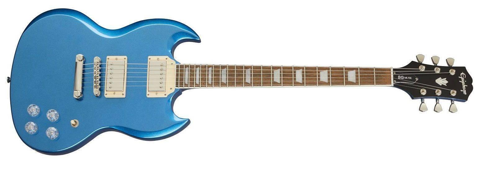 Guitarra Epiphone SG Muse Azul