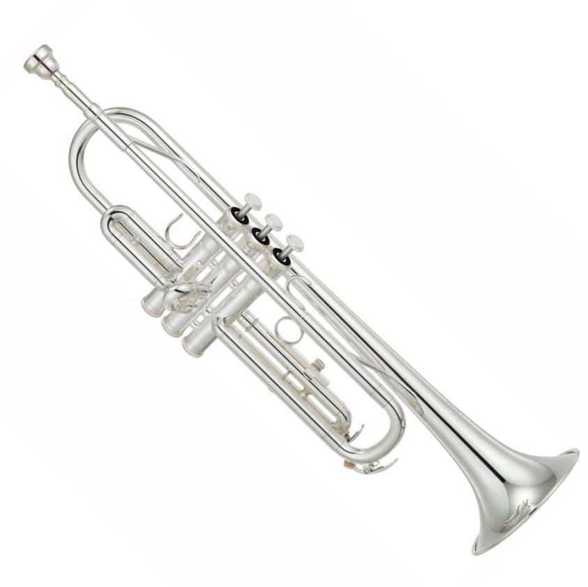 Trompeta Yamaha YTR2330s Estandar en Bb (Plateada)