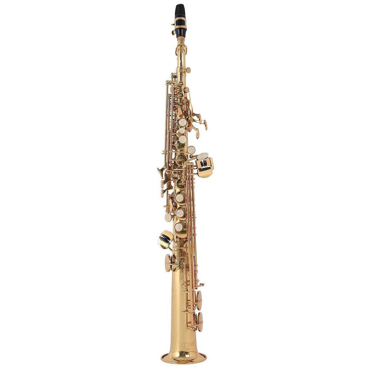 Saxofon Soprano Recto Laqueado Conn Ss650