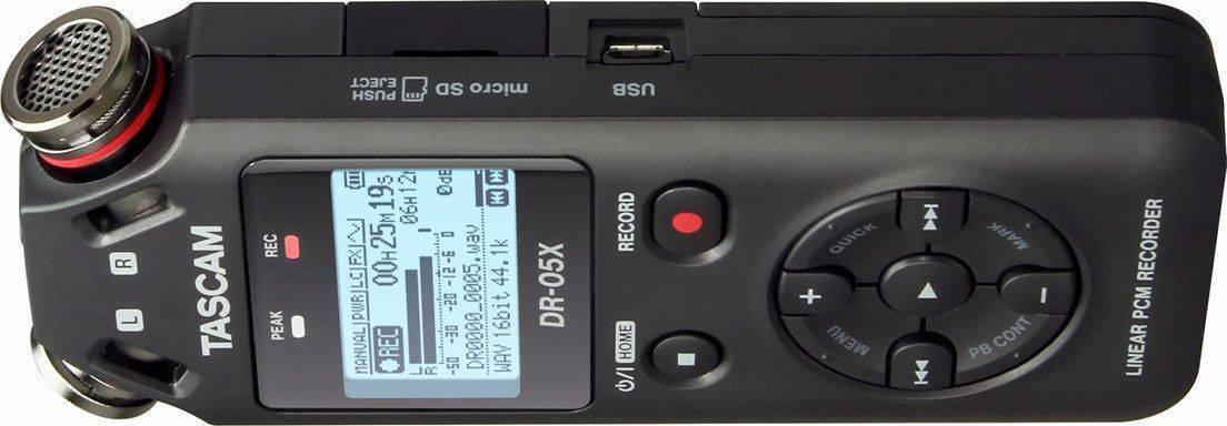 Grabadora Portatil Tascam DR-05X