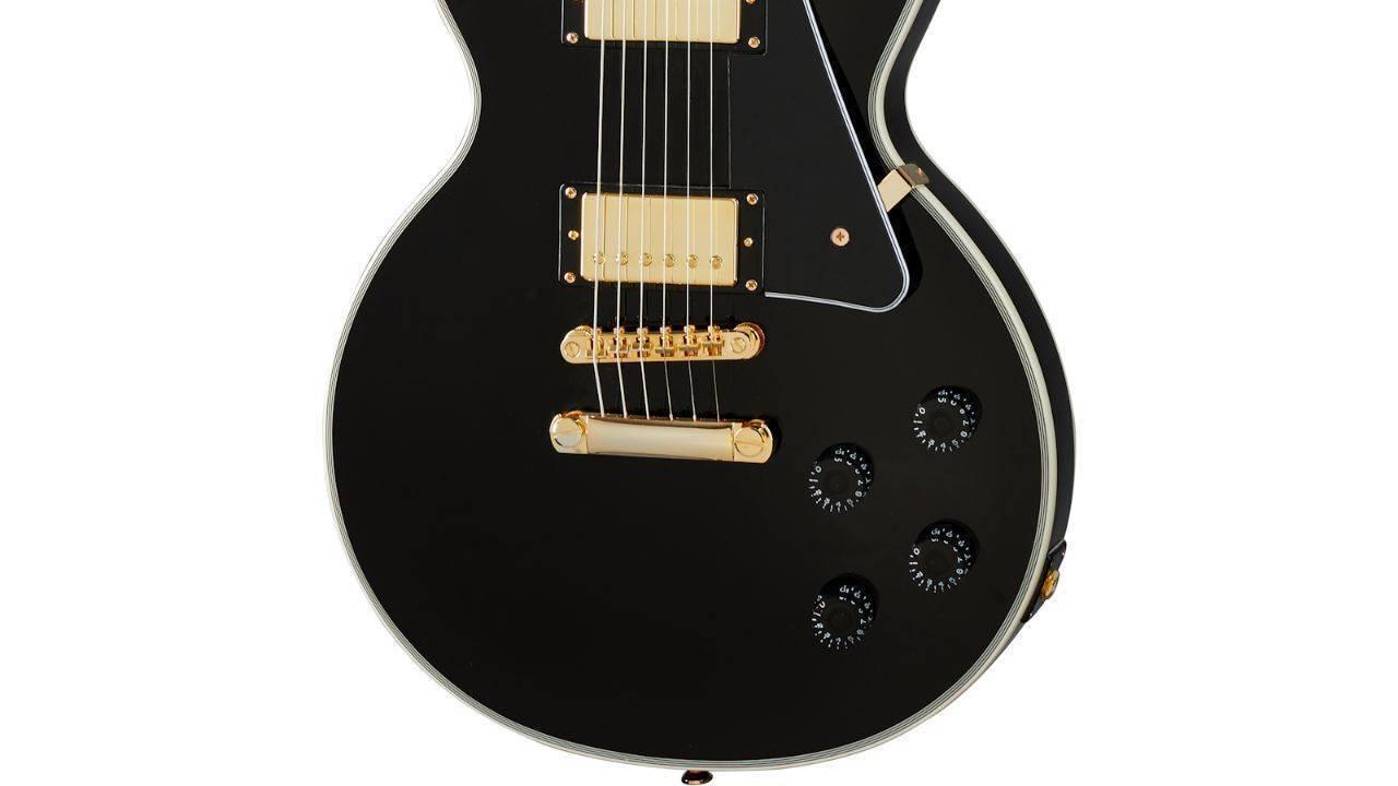 Guitarra Epiphone Les Paul CUSTOM PRO Negra 2020