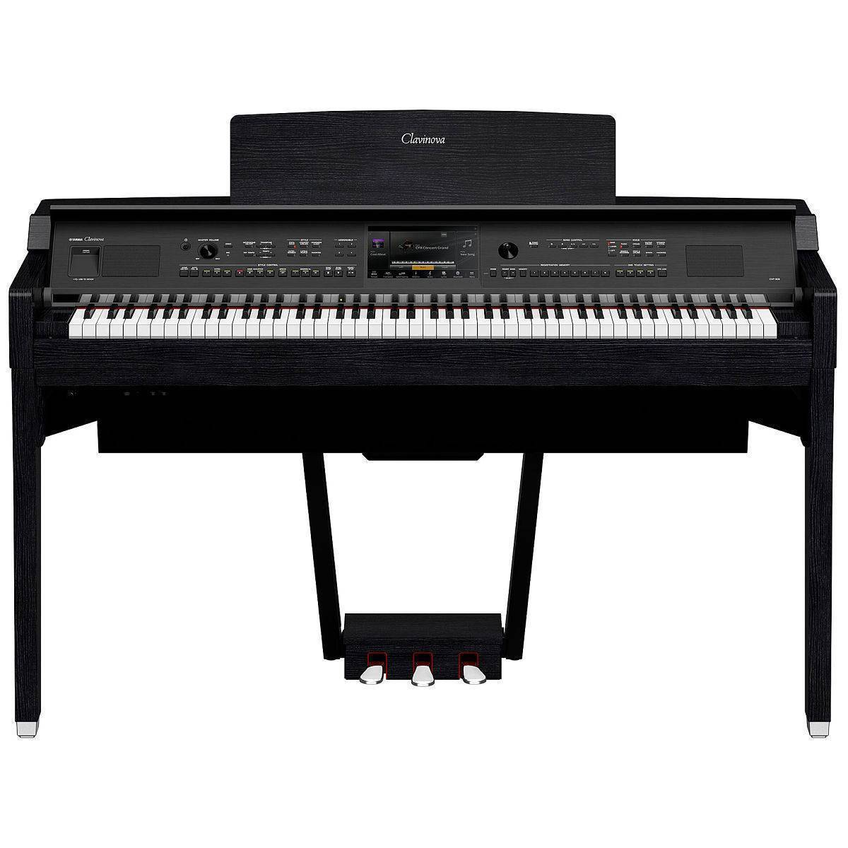 Piano Yamaha CVP-809 color Negro