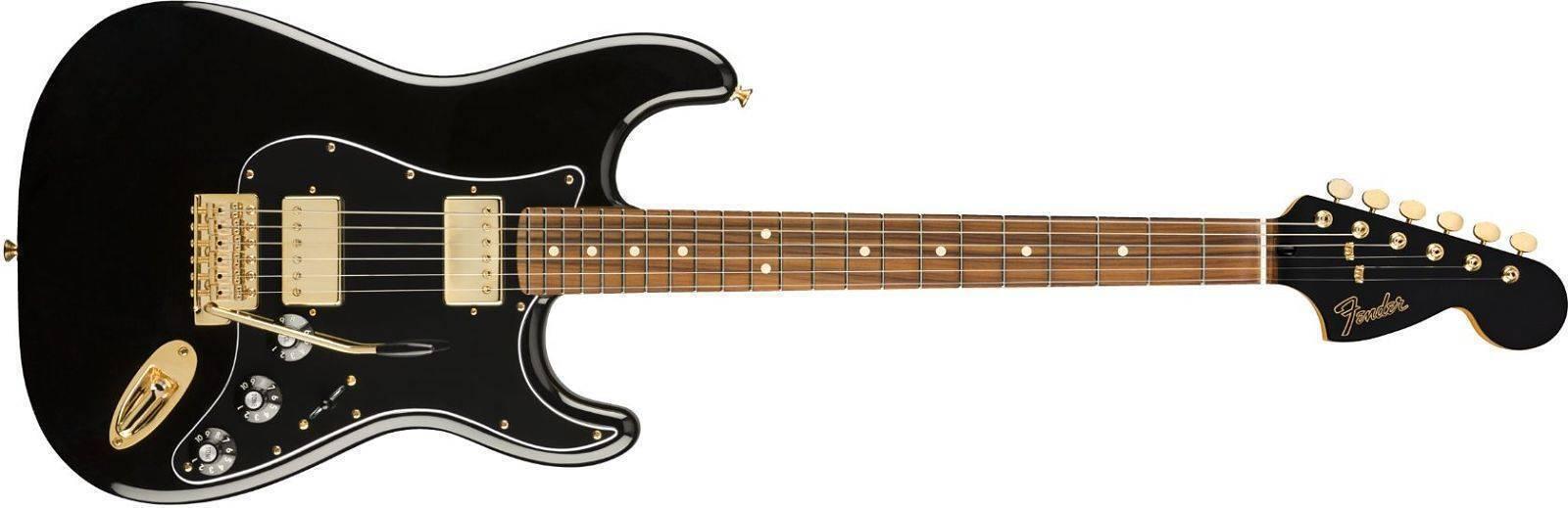 Guitarra Fender Stratocaster Caoba Blacktop edicion limitada