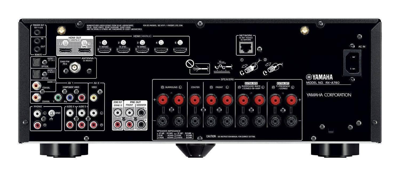 Receptor Yamaha Aventage 7.2 Ch 95W Wifi, Bluetooth RXA780
