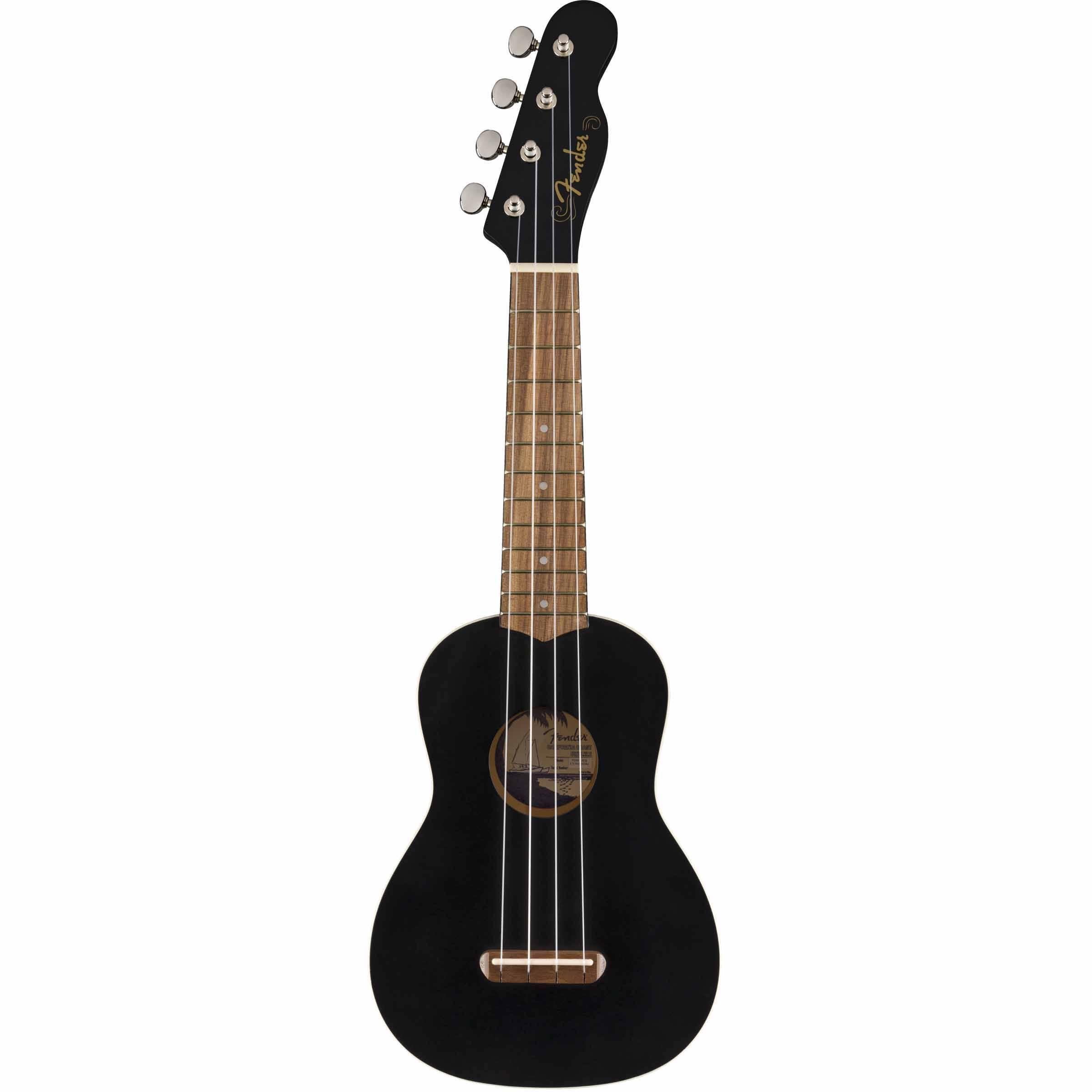 Ukulele Fender Venice Soprano Ukulele BLK WN