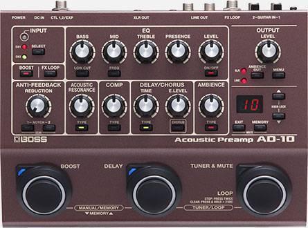 Preamplificador Acústico Con Caja Directa Para Guitarra Acustica/Electrica