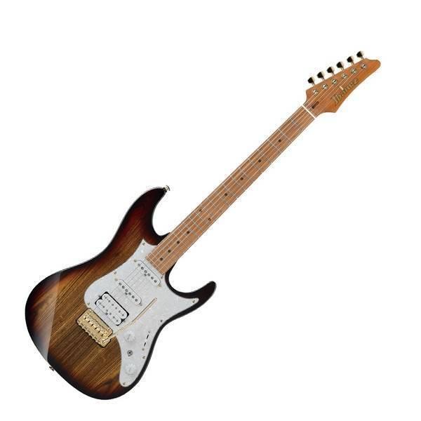 Guitarra Electrica Ibanez Az Premium Café Sombreado Con Funda