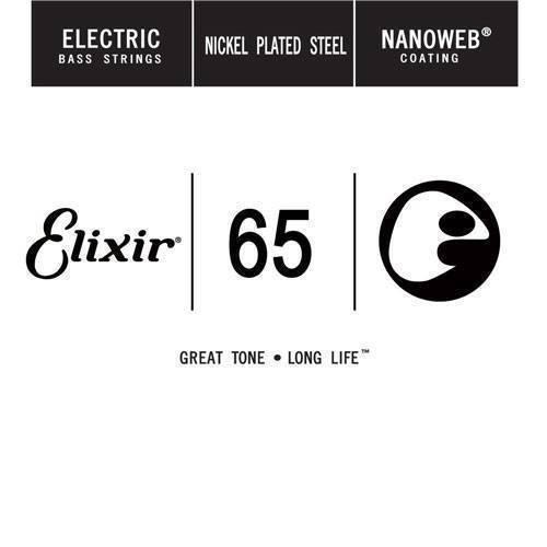 Cuerda Elixir para Bajo NanoWeb .065
