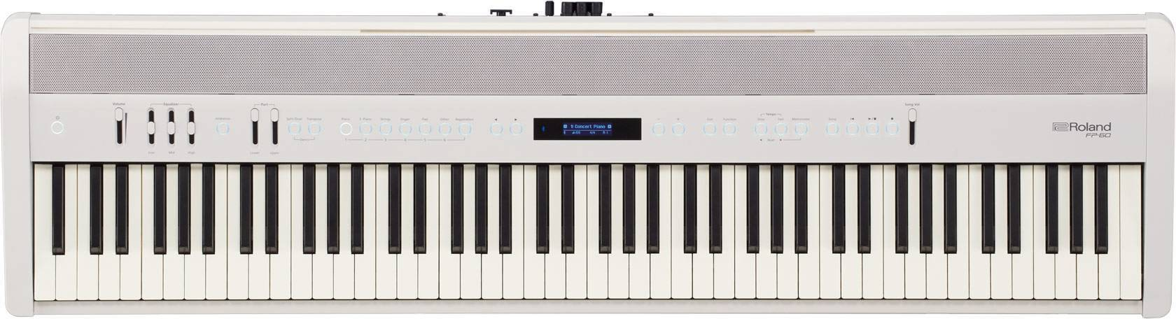 Piano Digital Roland FP-60 Color Blanco