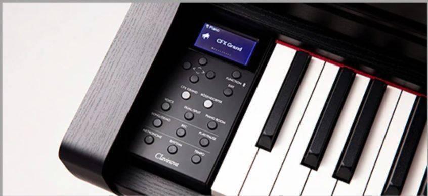 Piano Clavinova Yamaha CLP-735B Negro