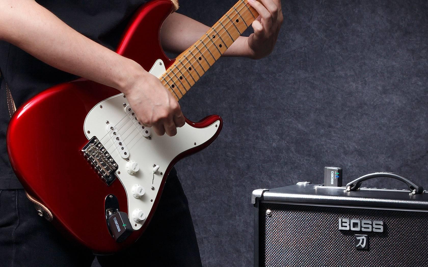 Sistema Inalambrico BOSS WL-20 Para Guitarra o Bajo