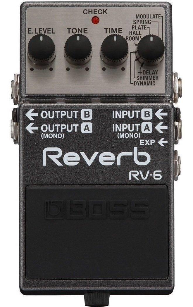 PEDAL BOSS REVERB Y DELAY RV-6