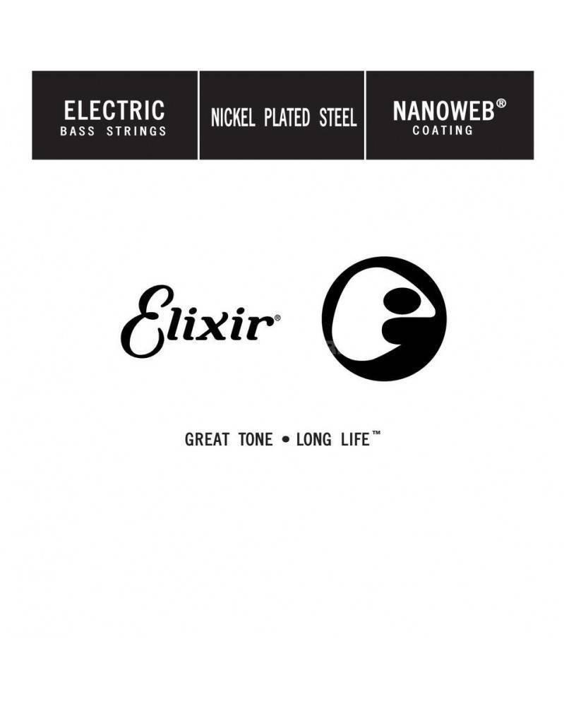 Cuerda Elixir para Bajo NanoWeb .045