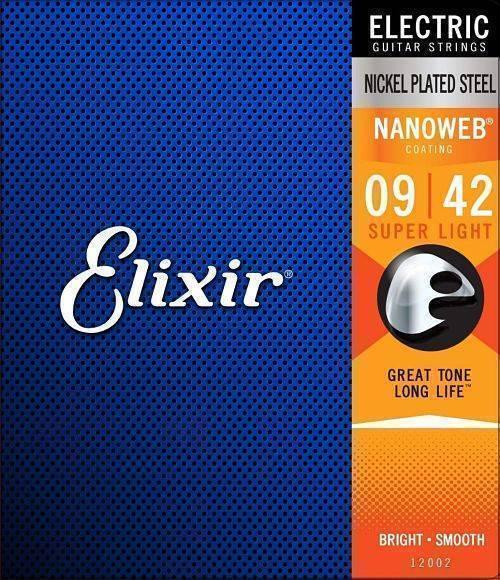 Juego de cuerdas Elixir NANOWEB (Electrica) .009-.042