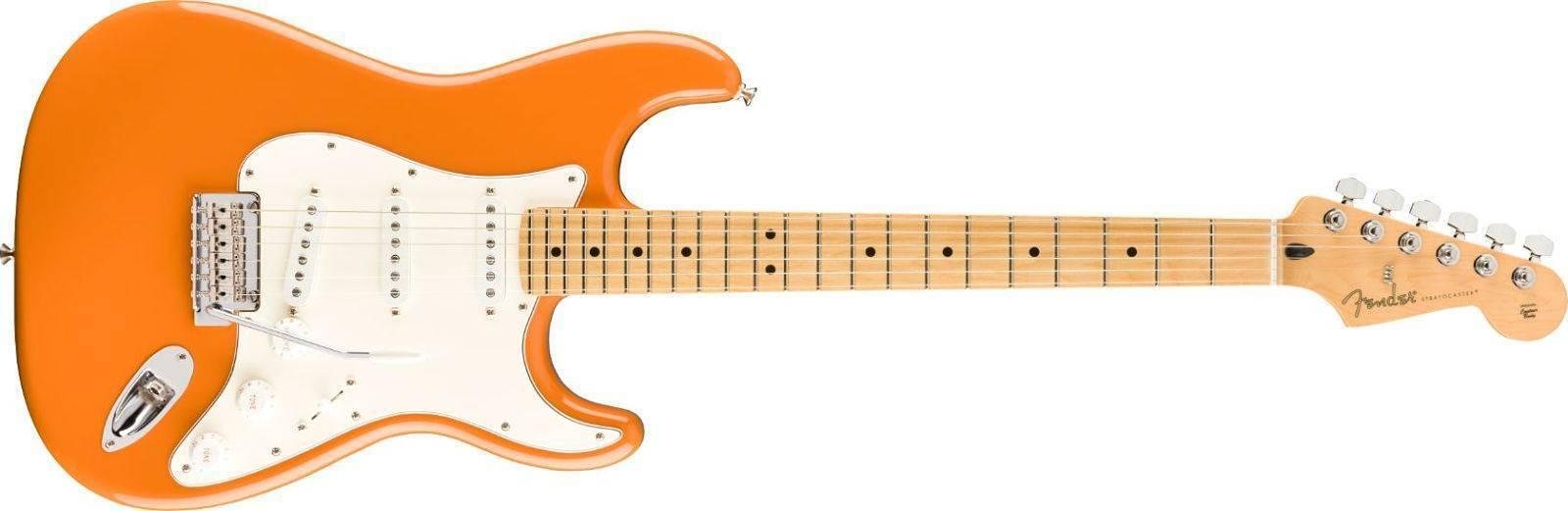 Guitarra Fender Player STRATOCASTER Capri Orange