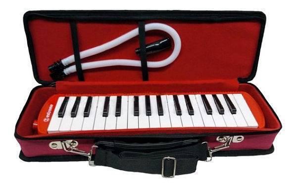 Melodica 32 Teclas Roja 2 1/2 Octavas C/ Estuche Extreme