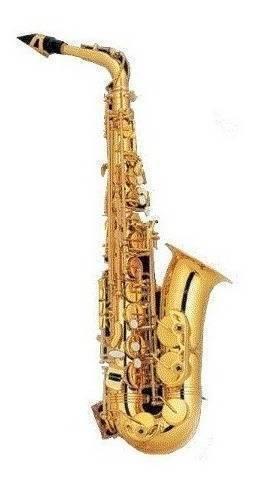 Saxofon Alto Eb Laqueado Dorado Cas-200Gl
